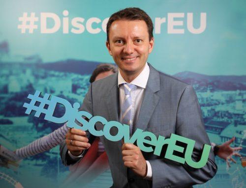 Comunicat de presă – La solicitarea lui Siegfried Mureșan, Parlamentul European va aloca 25 milioane de euro în 2020 pentru ca tinerii de 18 ani să poată călători gratuit cu trenul în Europa