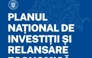 Planul Național de Investiții și Relansare Economică al Guvernului României, iunie 2020