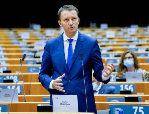 Comunicat de presă – Discursul eurodeputatului Siegfried Mureșan la dezbaterea Parlamentului European privind Starea Uniunii Europene